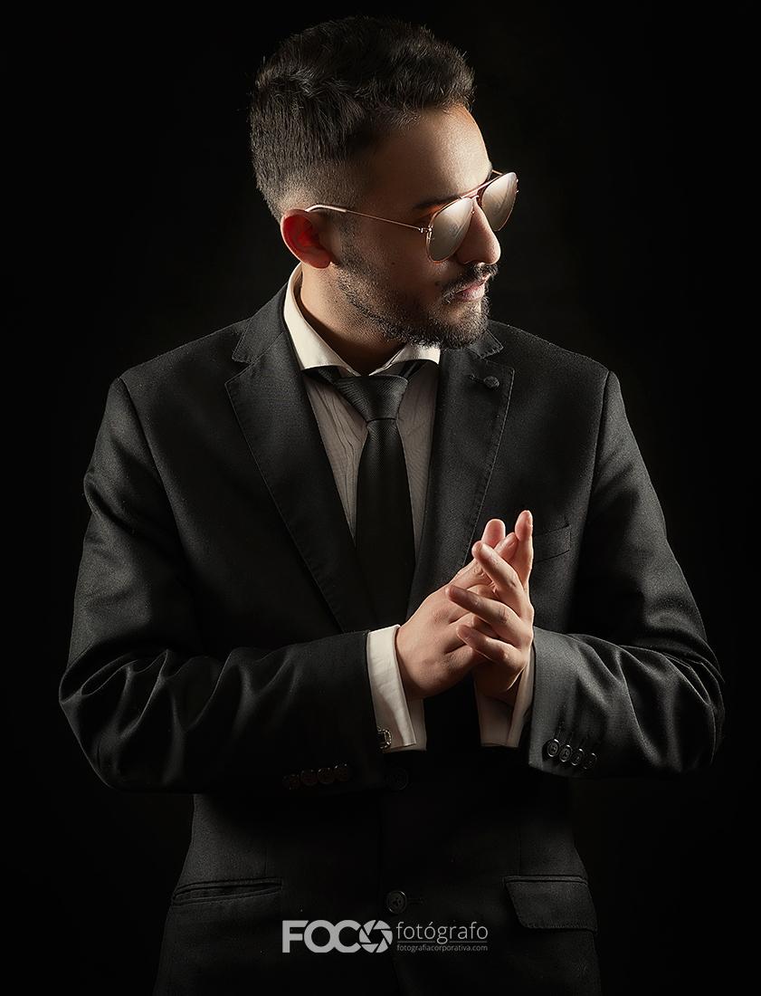 fotografía de retrato artista musical